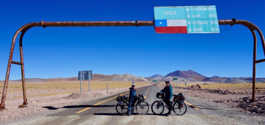 Back in the mountains. Proper mountains: Salta to San Pedro de Atacama (Paso Sico)